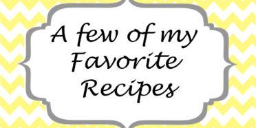 Fav recipe copy